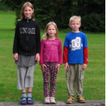 Sarah og søskende